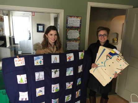 Msgr Irwin Cards and Blanket 2018 Dec
