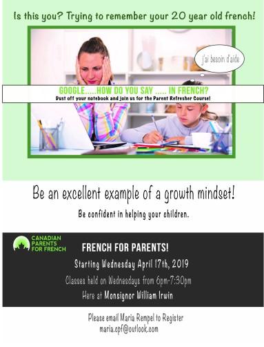 CPF Parent Course
