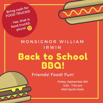 Back to School BBQ! 20192020